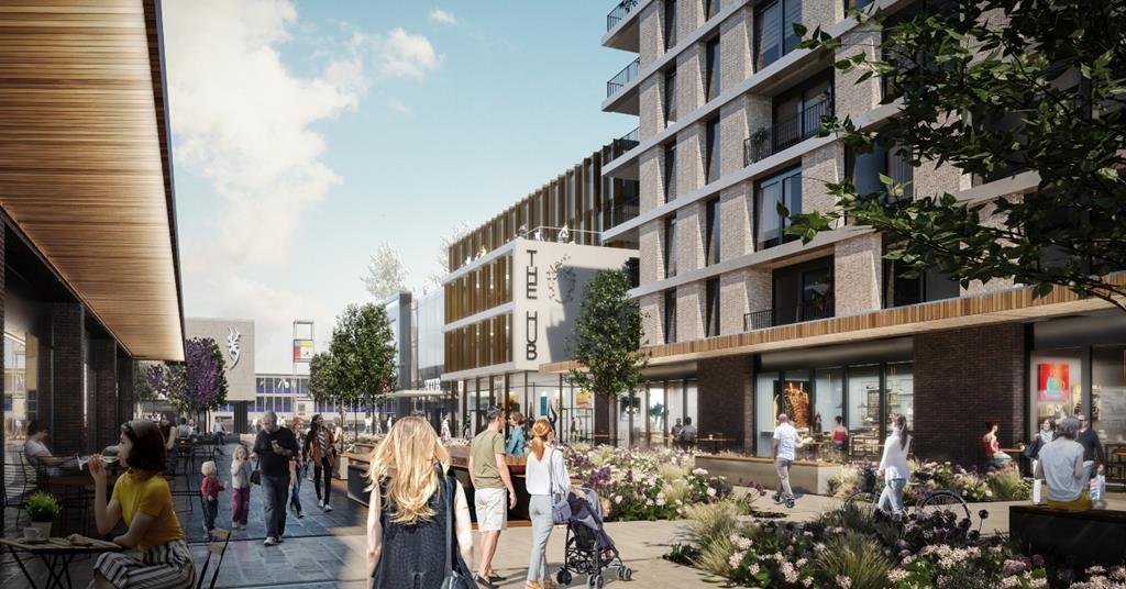 PRP and Bennetts given go-ahead for £500m Stevenage regeneration | News